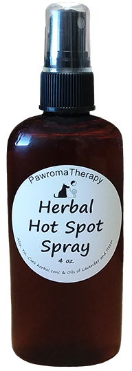 Pawroma Therapy Hot Spot Spray