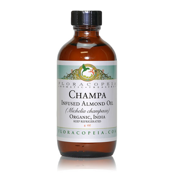 Champa Infused Almond Oil