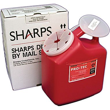 Sharps Disposal By Mail