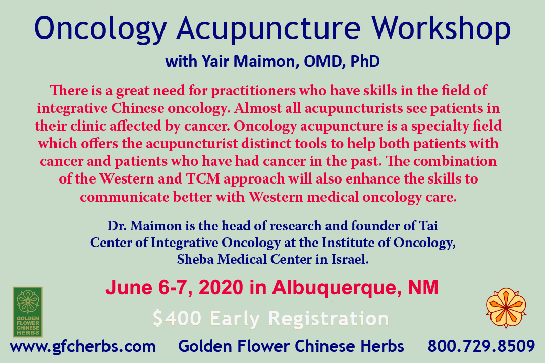 Oncology Acupuncture Workshop